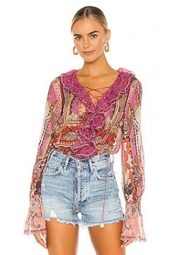 Блузка lace up - Camilla(125434514)