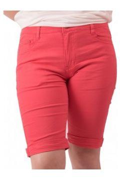 Short Primtex Bermuda en jean taille haute coton stretch léger(88679003)