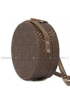 Brown - Shoulder Bags - Bagmori(110316759)