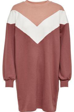 ONLY Sweat Kleid Damen Rot(124593193)
