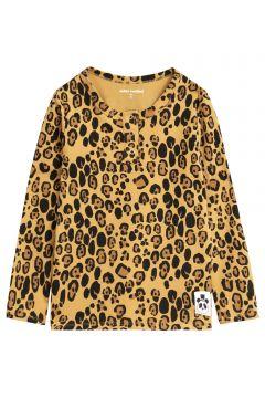 T-Shirt Basic Leopard Lyocell(114141257)