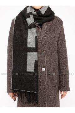 Black - Printed - Shawl Wrap - Koton(110323550)