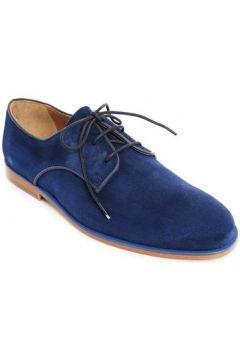 Chaussures Bobbies Lacets Le Reporter Bleu Nuit(127852873)