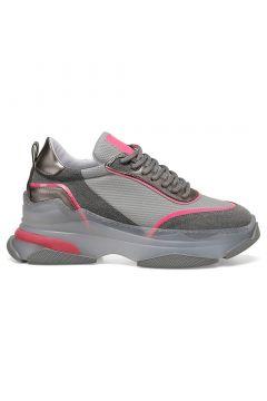 Nine West Gri Kadın Sneaker(122080445)