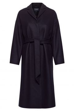 Alice Wool Blend Coat Wollmantel Mantel Blau LEXINGTON CLOTHING(121308467)