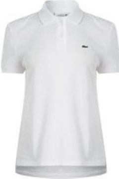 Lacoste Short Sleeve Polo Shirt - White(109159779)