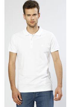 Bad Bear Polo Yaka Beyaz T-Shirt(113961629)