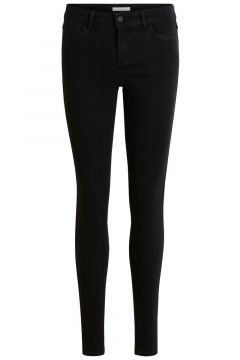 VILA Stretchiga Skinny Fit-jeans Kvinna Svart(92519646)