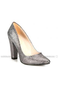 Silver Tone - High Heel - Shoes - ROVIGO(110316045)