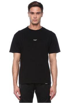Represent Erkek Siyah Logo Baskılı T-shirt S EU(117578380)