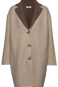 Tessa Coat Wollmantel Mantel Beige STYLEIN(108574118)
