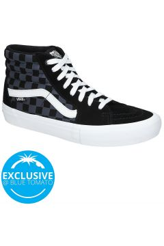 Vans Reflective Checkerboard Sk8-Hi Pro Skate Shoes zwart(91284843)