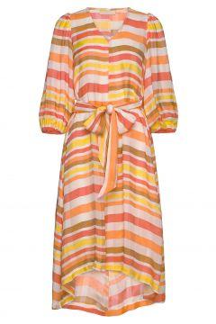 Rayakb Dress Kleid Knielang Orange KAREN BY SIMONSEN(114164563)