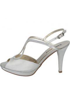 Sandales Calpierre sandales beige satin swarovski BZ731(115398971)