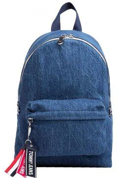 Tommy Hilfiger Tju Logotape Mını Backpack Denım Unisex Sırt Çantası(89029268)