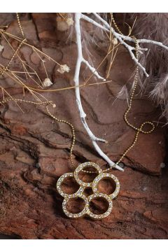 Gold - Necklace - By Geda(110328760)