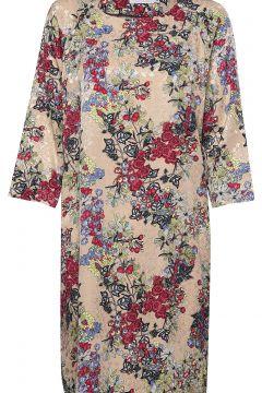 Dress In Winter Berry Print W. Ragl Kleid Knielang Bunt/gemustert COSTER COPENHAGEN(114163459)
