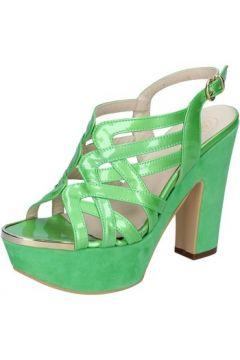Sandales G.p.per Noy sandales vert cuir verni daim BY217(88522928)