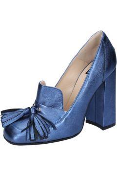Chaussures escarpins Islo escarpins bleu cuir BZ225(115393975)