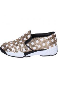 Chaussures Pin Ko PINKO slip on blanc paillettes or BT250(115442762)