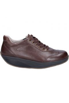 Chaussures Mbt sneakers marron cuir performance BT62(115442734)
