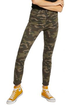 Volcom Super Stoned Skinny Jeans groen(120783206)