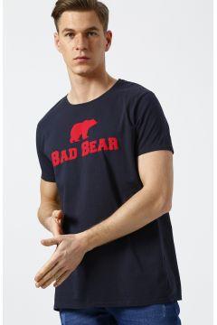 Bad Bear Baskılı Antrasit T-Shirt(113979653)