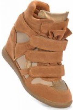 Pantofelek24.pl   Trampki sneakersy na koturnie CAMEL(112082916)