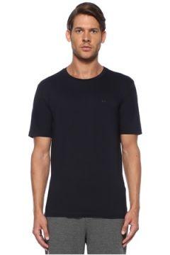 Boss Erkek Regular Fit Lacivert Logo Baskılı T-shirt XL EU(116507888)