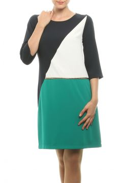 Cotton Bar Lacivert Elbise(113943387)
