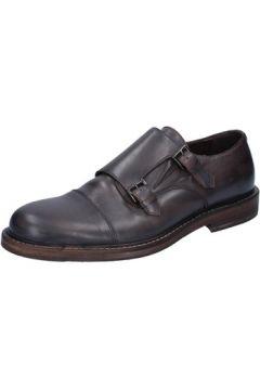 Chaussures Roberto Botticelli élégantes marron (brun foncé) cuir BY584(88524158)