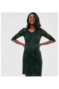 Mamalicious Maternity - Vestito a fascia in pizzo verde(120324441)