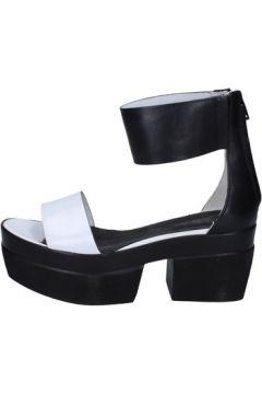 Sandales Cult sandales noir cuir blanc BT286(115442774)