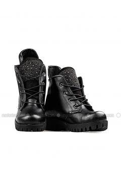 Black - Boot - Boots - Renkli Butik(110333808)