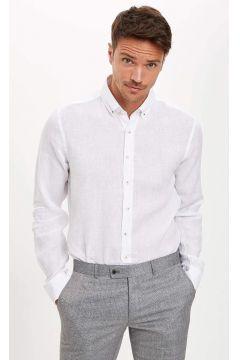DeFacto Erkek Basic Modern Fit Gömlek(119062276)