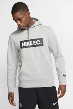 Nike F.C. Fleece Kapüşonlu Erkek Futbol Sweatshirt\'ü(113782029)