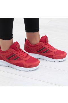 Scot Kırmızı Kadın Spor Ayakkabı(110940919)