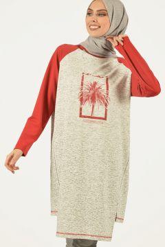 Sweat-shirt PLİSTRE Ecru / Multicolore(119069785)