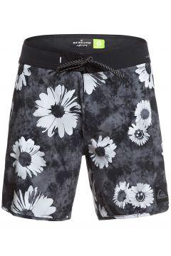 Quiksilver Highline Sprayed Daisy 17 Boardshorts zwart(116880415)