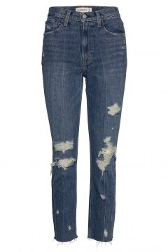Mom Jeans Jeans Mom Jeans Blau ABERCROMBIE & FITCH(116951115)