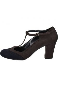 Chaussures escarpins Bottega Lotti escarpins gris daim bleu AJ553(115400256)
