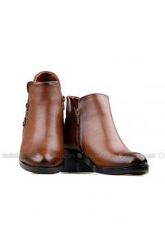 Brown - Boot - Boots - Renkli Butik(110333812)