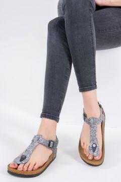 Sandale Fox Shoes Argenté(125457615)