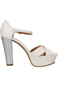 Sandales Sergio Cimadamore sandales blanc cuir argent glitter AF483(115395276)