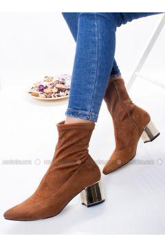 Tan - Boot - Boots - Ayakkabı Frekansı(110323524)