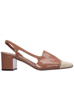 Women's leather pumps court shoes high heel(118301741)