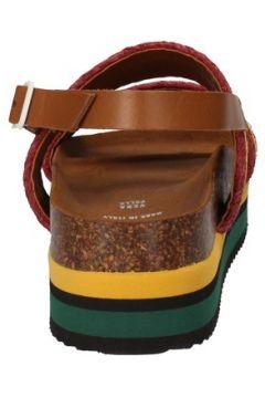 Sandales 5 Pro Ject sandales jaune textile vert AC591(115393618)