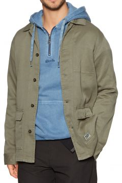 Afends Troop Hemp Jacke - Covert Green(111100951)