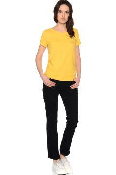 T-Box Siyah Denim Pantolon(113951519)