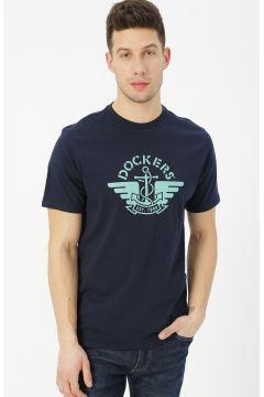 Dockers Lacivert Baskılı T-Shirt(113999026)